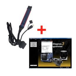 Wholesale Truck Scanners - V2.33 Scania VCI-3 VCI3 Scanner Wifi Diagnostic Tool For Scania Truck Support Multi-language Win7 Win8 Win10