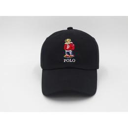 Мода горячие Upsoar шляпа красная шляпа аутентичные поло медведь папа бейсболка Kanye West ТЛОП Дрейк cap casquette новые дешевые Оптовая от
