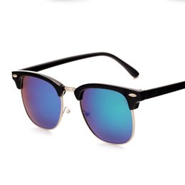 Wholesale Vintage Metal Frog - Wholesale Classics Vintage UV400 Frog Sunglasses for Fashion Men Women Unisex Driving Fishing Brand Designer Metal Shades Eyewear Full Frame