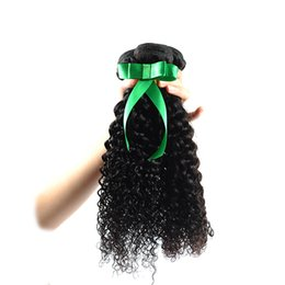 bulk hair dye Coupons - 30 inch Bulk Brazil Brazil high quality Natural black Hair Black Color kinky 100% Human bundles