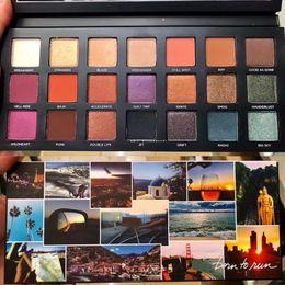 Nuevos colores de ejecución libre online-Envío gratis Nueva paleta de maquillaje Born to Run sombra de ojos paleta 21 colores sombra de ojos de buena calidad