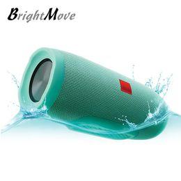 Wholesale mini wireless rechargeable speaker - portable wireless bluetooth speaker Splashproof waterproof Speakers with Built-in 2400mAh power band Rechargeable Battery for smartphones