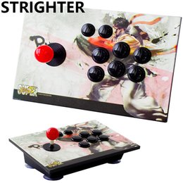 Wholesale Arcade Games Pc - arcade joystick 8 buttons King of fighters pc controller computer game Joystick Consoles