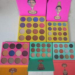 Wholesale Colors Eyeshadow - New Juvia's place Mini Masquerade Palette the Nubian 2 Cleopatra eyeshadow Saharan palette In stock FREE SHIPPING