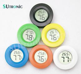Mini Numérique Thermomètre Électronique Hygromètre Ronde Température Humidimètre testeur pour Aquarium Congélateur Réfrigérateur Maison ? partir de fabricateur