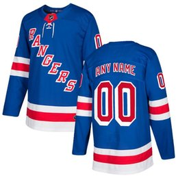 Wholesale Nhl Hockey Rangers - 2018 free shipping NHL New York Rangers HOCKEY jerseys new on sale men's t-shirt hockey jersey customized item size M L XL XXL