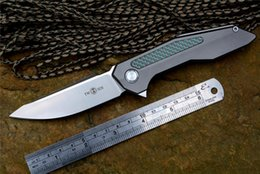 """Wholesale High Carbon Pocket Knives - High quality Twosun New Knife TS42 3.43"""" Blade Pocket Knife Folding Knife Fast Open by Flipper TC4 handle inlay Carbon fiber"""