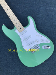 Бренд гитары фарфора онлайн-Электрогитара Оптовая новый fen st custom shop электрогитара / oem Марка зеленый цвет гитары / гитара в Китае
