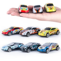 Wholesale Mini Diecast Models - Children Simulation Mini Toy Car Cartoon Diecast Model Cars Cool Styling Alloy Product The Hot Gifts On The Stall 8 5by W