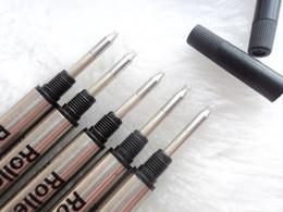 Vendita calda - 10 pz di alta qualità Monte nero / blu ricarica Roller penna penna ricarica filo scuola scrittura accessori speciali inchiostro da