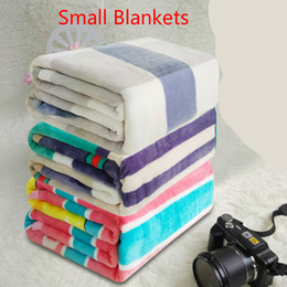 Wholesale Pets Carpet - Kids Pet Blanket Printed blanket Air Conditioning blanket Comfortable Carpet Rugs Soft Beach Towel Blankets Small blankets Gift 50x70cm