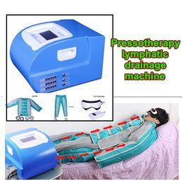 pressothérapie Promotion 3 en 1 corps de drainage lymphatique Pressotherapy amincissant la machine Infrarouge lointain Pressothérapie pression électrique de sauna de sauna de stimulation