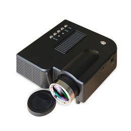 Argentina El mejor 2018 Mini proyector UC28B portátil 500LM Cine en casa Cine Multimedia LED Proyector de video Soporte USB TF Tarjeta cheap mini projector video Suministro