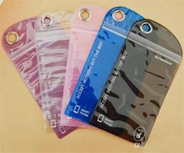 2019 sacchetto di imballaggio al dettaglio impermeabile Trasparente telefono impermeabile Casetouch borsa impermeabile Wimming pacchetto di vendita al dettaglio in PVC per cellulare Samsung Iphone sacchetto di imballaggio al dettaglio impermeabile economici