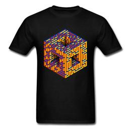Hoodies & Sweatshirts Geek Rubiks Cube Maze 3d Print Men Hoodie Gift Casual Cotton Coat Sweatshirt Boyfriends Cool Geometric Tops Streetwear