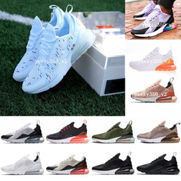 2018 Nike air max airmax 270 White Hologram Iridescent Junior Superstars 80s Pride Sneakers Super Star Donna Uomo Sport Scarpe da corsa 36-44