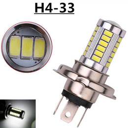Wholesale h4 lamps - H4 H7 33 SMD 5630 5730 Car Led Signal Lights Fog Lamps Daytime Running Light 33SMD Auto Rear Reverse Bulbs White