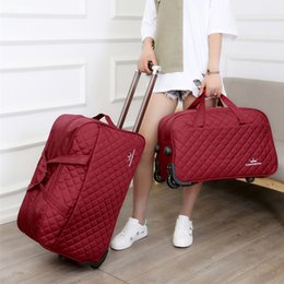 Large Luggage Bag Trolley Case Large Capacity Travel Bag on Wheels for  Women Men Suitcase Travel Duffle Rolling Baggage 283f0dd2c9804
