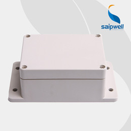 Wholesale Enclosure Waterproof - Saipwell 2014 New Hot Sale Plastic Enclosure, IP65 Waterproof Wall Mount Plastic Enclosure with Ear High Quality 115*90*55