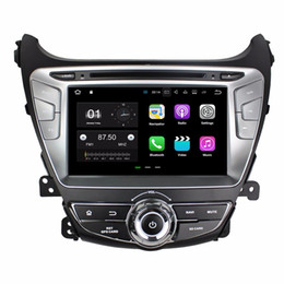 "Wholesale Car Head Unit Usb Bluetooth - Android 7.1 Quad Core 8"" Car radio dvd GPS Multimedia Head Unit Car DVD for Hyundai Elantra 2014 With Bluetooth WIFI USB Mirror-link"