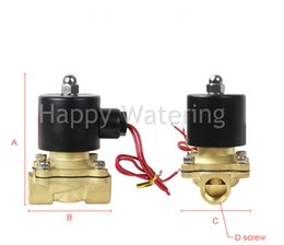 """Wholesale Pressure Solenoid - DC12V 24V 3 4"""" BSP Brass Normally Closed Water Solenoid Valve Free Shipping"""