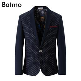Batmo 2018 neue Ankunft Sommer hochwertige Cord Freizeitanzüge Männer, Herren Casual Jacken, Herren Blazer, Flash-Angebote von Fabrikanten