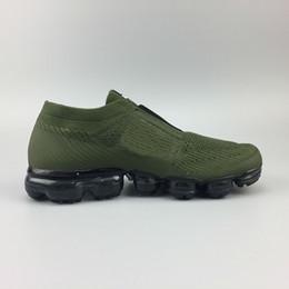 Wholesale Cheap Mens Shoes Free Shipping - Cheap Mens Vapormax Moc Releasing Laceless Running Shoes Sneakers For Women Walking Outdoor Shoes Free Shipping