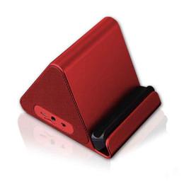 Nova Chegada Modo Privado Creative Bracket Bluetooth Speaker Subwoofer de Áudio Ao Ar Livre Portátil Cartão de Telefone MOQ: 10 pcs Frete Grátis de Fornecedores de pequenos alto-falantes