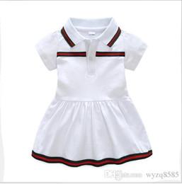 Argentina Mejor venta del nuevo vestido de verano del bebé 2019 solapa de algodón ropa de bebé recién nacido 9 meses -3 años de edad vestido supplier tutus for year old Suministro