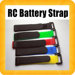 Wholesale Lipo Batteries For Rc Cars - Lipo Battery Tape strap 20cm*2cm 200mm x 20mm for 450 500 RC Helicopter Car AIRplane