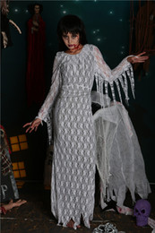 costumes sombres pour halloween Promotion Femmes Vampire Zombie Dress Decadent Dark Ghost Mariée Styling Sexy Costumes Halloween Party Costumes Cosplay pour les femmes