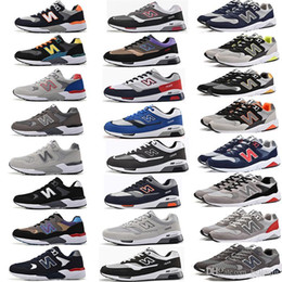 Wholesale waterproof casual shoes for men - N letters Trainer Sport Running Shoes For Men Women Casual Flat Shoes Sneakers Unisex Zapatillas South Korea Joker Walking Shoes