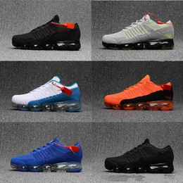 Wholesale Sale Products - High quality 2018 New Running Shoes Cushion 2018 Men Women Vapormax Product Hot Sale Breathable Sports Shoes Sneaker US 7-12 Free shipping