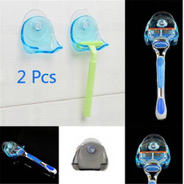 Shaver Toothbrush Holder Washroom High Power Suction Cup Hook Razor Bathroom Holder Shaving Razor Rack Bathroom Set Beauty & Health Razor