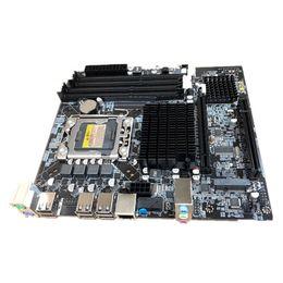 2019 placa mãe do hp pavilion 15 Para Inter X58 Desktop LGA 1366 X58 Motherboard 4xDDR3 32 GB RAM ECC PC Computador Mainboard M-SATA PCIE 16X