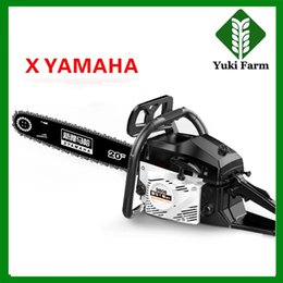 Wholesale power slip - X YAMAHA Chainsaw logging saw chain saw power gasoline chain saw portable wood cutting machine 2-stroke