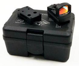 Tactical RMS Reflex Mini Red Dot Sight Com Vented Mount e espaçadores para pistola de alumínio escopos de caça de Fornecedores de montagem de pistola de ponto vermelho