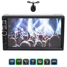 Wholesale Hands Free Camera - Front Camera Double 2 Din Eincar 7'' Touch Screen Car Radio Car stereo Head unit Player Bluetooth Hands free 1080P Movie RearView Camera
