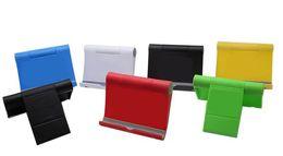 2019 stand rembourré en ipad 7 couleurs support d'angle réglable pour iPad 2/3/4 iPad Air support mini support de tablette pour support de téléphone Samsung Xiaomi stand rembourré en ipad pas cher