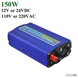 Wholesale Pure Sine Power Inverter - 150W 12V 24V DC to AC110V 220V off grid pure sine wave inverter with UPS function, suitable for small solar or wind power system