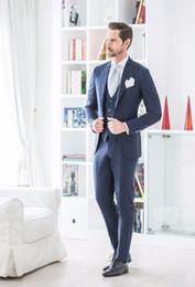 2019 homens cinzentos claros da veste formal Custom Made Luz Cinza Homens Terno para o Casamento Formal Vestido brilhante Ternos de negócios para os Melhores Homens Blazer Padrinhos de Baile Smoking Smoking Calças Colete desconto homens cinzentos claros da veste formal