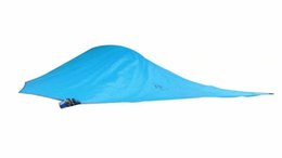 Wholesale big tents camping - Wholesale-Hanging Tree Tent Triangle Suspension tent Self Hanging Hammock camping Hiking Outdoor Rally bed Double layer Rainproof big one