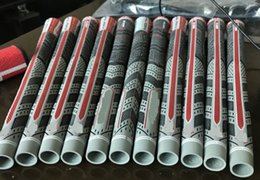 Wholesale Iron Grips - 2018 New Golf Grips Grey Colors Rubbers For Golf Irons Driver Standard  Midsize Golf Clubs Grips
