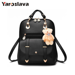 Wholesale Korean Multi Backpack - 2017 new arrival fashion women backpack new spring and summer students backpack women Korean style high quality LL24
