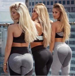 Le donne calde di vendita leggings di fitness che eseguono i pantaloni pantaloni femminili sexy sottili pantaloni di danza della signora Nuovo stile Spandex Materiale Yoga legging da i pantaloni di yoga ballano sexy fornitori