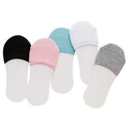 5 paia / lotto Calze per calzettoni estivi non tagliate estive senza calze da barca da bambina invisibili college cotone giapponese in cotone spesso da