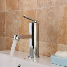 Wholesale faucets for kitchen - Single Handle Sink Bathroom Basin Faucet Cold&Hot Mixer Tap Kitchen Faucet Waterfall for Bathroom Kitchen