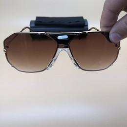 Avec Boîte Légendes Lunettes de Soleil Métal Cadre De Luxe Femmes Hommes Lunettes de Soleil Grand Cadres Métal lunettes Extérieure Gradient Lunettes 905 ? partir de fabricateur