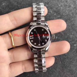 2019 relógios suíços 8 cores de Luxo Senhoras de Alta Qualidade 26mm Datejust Presidente Two Tone Ouro Diamante Dial Swiss ETA 2824 Movimento Relógio Automático das Mulheres Relógios relógios suíços barato