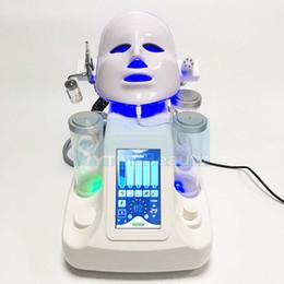 Wholesale ultrasonic skin care machine - Professional Hydro Facial Dermabrasion Ultrasonic Skin Care Rejuvenation Water Aqua Jet Oxygen Peeling Spa Facial Lifting Beauty Machines